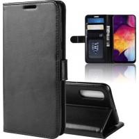 Θήκη Book Style με Βάση Στήριξης για Samsung (Galaxy A50) - (Μαύρο)