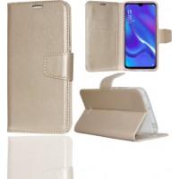 Θήκη Book Style με Βάση Στήριξης για Samsung (Galaxy A70) -ΧΡΥΣΟ
