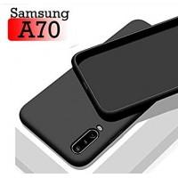 OEM Back Θήκη Σιλικόνης Για Samsung A70 Προστασία Κινητό -Μαύρο