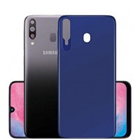 OEM Back Θήκη Σιλικόνης Για Samsung M20 Προστασία Κινητό - Blue