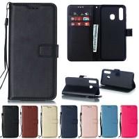 Θήκη Book Style με Βάση Στήριξης για Samsung (Galaxy M20) -Μαύρο