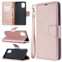 Θήκη Book Style με Βάση Στήριξης για Samsung (Galaxy A71) - (ΑΝΟΙΧΤΟ ΡΟΖΕ)