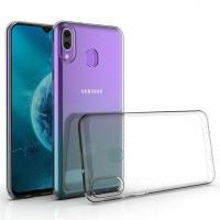 OEM Back Θήκη Σιλικόνης Σκληρη Για Samsung M30 Προστασία Κινητό - Διάφανο