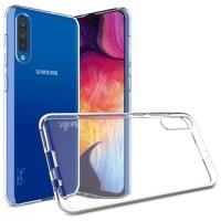 OEM Back Θήκη Σιλικόνης Σκληρη Για Samsung A70 Προστασία Κινητό - Διάφανο