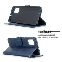 Θήκη Book Style με Βάση Στήριξης για Samsung (Galaxy A51) - (ΜΠΛΕ)