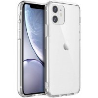 Apple iPhone 11 OEM Front & Back Silicone Σκληρη Two Crystal Διάφανο