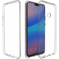 Samsung Galaxy M20 OEM Front & Back Silicone Σκληρη Two Crystal Διάφανο