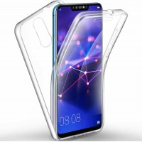 Huawei Mate20 Lite OEM Front & Back Silicone Σκληρη Two Crystal Διάφανο
