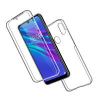 Huawei Y6/Y6 Pro 2019 OEM Front & Back Silicone Σκληρη Two Crystal Διάφανο