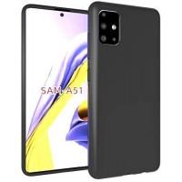 OEM Back Θήκη Σιλικόνης Για Samsung A51 Προστασία Κινητό -  Black