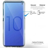 Samsung Galaxy S10 OEM Front & Back Silicone Σκληρη Two Crystal Διάφανο