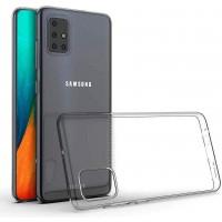 OEM Back Θήκη Σιλικόνης Για Samsung A71 Προστασία Κινητό - Διάφανο