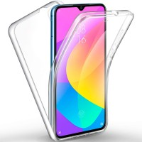 Xiaomi Mi A3 OEM Front & Back Silicone Σκληρη Two Crystal Διάφανο