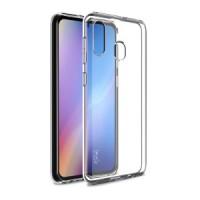 Samsung Galaxy A20/30 OEM Front & Back Silicone Σκληρη Two Crystal Διάφανο