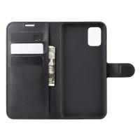 Θήκη Book Style με Βάση Στήριξης για Samsung (Galaxy A71) - (Μαύρο)