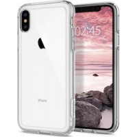 Apple iPhone X/XS OEM Front & Back Silicone Σκληρη Two Crystal Διάφανο