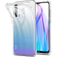 Xiaomi Note8 T OEM Front & Back Silicone Σκληρη Two Crystal Διάφανο