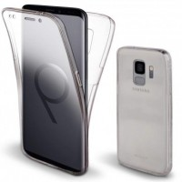 Samsung Galaxy S9 OEM Front & Back Silicone Σκληρη Two Crystal Διάφανο