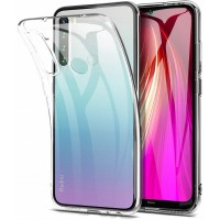 Xiaomi Note8 OEM Front & Back Silicone Σκληρη Two Crystal Διάφανο