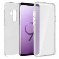 Samsung Galaxy S9 Plus OEM Front & Back Silicone Σκληρη Two Crystal Διάφανο