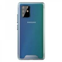 OEM Back Θήκη Σιλικόνης Σκληρη Για Samsung A81/Note10 Lite Προστασία Κινητό - Διάφανο