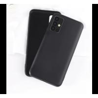 OEM Back Θήκη Σιλικόνης Για Samsung A71 Προστασία Κινητό -  Black
