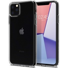 Apple iPhone 11PRO MAX OEM Front & Back Silicone Σκληρη Two Crystal Διάφανο