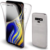 Samsung Galaxy Note 9 OEM Front & Back Silicone Σκληρη Two Crystal Διάφανο