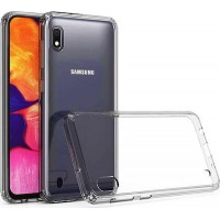 Samsung Galaxy M10/A10 OEM Front & Back Silicone Σκληρη Two Crystal Διάφανο
