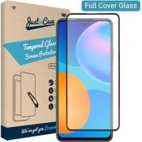 Tempered Glass 9H Για Huawei P SMART 2021 Full Cover Glue Προστατευτικό Οθόνης Mαύρο