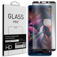 Tempered Glass Για Huawei MATE 10 PRO Full Cover Glue Προστατευτικό Οθόνης Mαύρο