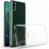 OEM Back Θήκη Σιλικόνης Σκληρη Για Huawei P Smart Z /Y9 Prime 2019 Διάφανο