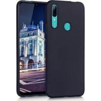 OEM Back Θήκη Σιλικόνης Σκληρη Για Huawei P Smart Z /Y9 Prime 2019 ΜΑΥΡΗ