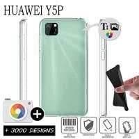 OEM Back Θήκη Σιλικόνης Για Huawei Y5P Προστασία Κινητό - Διάφανο