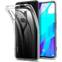 OEM Back Θήκη Σιλικόνης ΓιαHuawei P Smart Z / Honor 9X / Y9 Prime 2019 Προστασία Κινητό -Διάφανο