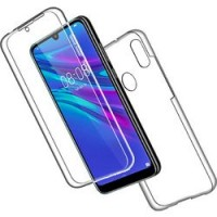 Huawei PSmart 2019 OEM Front & Back Silicone Σκληρη Two Crystal Διάφανο