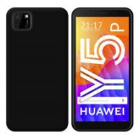 OEM Back Θήκη Σιλικόνης Για Huawei Y5P Προστασία Κινητό - Μαύρο