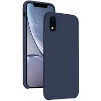 OEM Hard Back Cover Case Σκληρή Σιλικόνη Θήκη Για IPHONE XR- ΜΠΛΕ