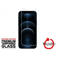 """Tempered Glass Για Iphone 12 ProMax (6.7)"""" Glue Προστατευτικό Οθόνης - διαφανής"""