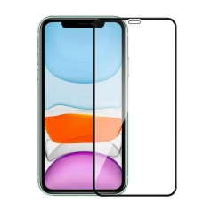 "Tempered Glass Για iPhone 12Pro Max (6.7"") Full Cover Glue Προστατευτικό Οθόνης - Mαύρο"