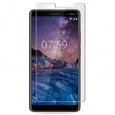 Tempered Glass Για Nokia 7 Plus Glue Προστατευτικό Οθόνης  - διαφανής