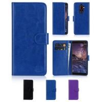 NOKIA 7 Plus - ΘΗΚΗ BOOK STYLE SMART ΜΑΓΝΗΤΙΚΗ Μπλε