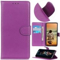 Θήκη Book Style με Βάση Στήριξης για Xiaomi Redmi 5 Plus Μωβ