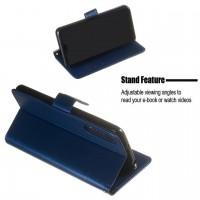 Θήκη Book Style με Βάση Στήριξης για Xiaomi MI 9Lite/MI A3Lite Μπλε