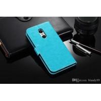 Θήκη Book Style με Βάση Στήριξης για Xiaomi Redmi 5 Plus Γαλάζιο
