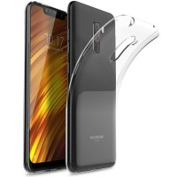 OEM Back Θήκη Σιλικόνης Για Xiaomi F1 Pocophone Προστασία Κινητό - Διάφανο