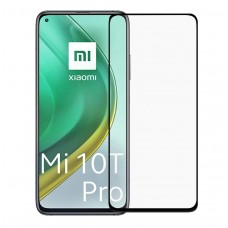 Tempered Glass 9H Για Xiaomi MI 10T PRO Προστατευτικό Οθόνης Full Glue - Μαύρο