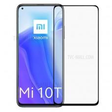 Tempered Glass 9H Για Xiaomi MI 10T Προστατευτικό Οθόνης Full Glue - Μαύρο