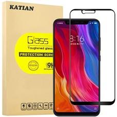 Tempered Glass 9H Για Xiaomi Mi 8 Προστατευτικό Οθόνης Full Glue - Μαύρο