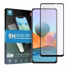 Tempered Glass 9H Για Xiaomi NOTE 10 PRO Προστατευτικό Οθόνης Full Glue - Μαύρο
